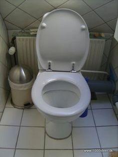Genstridige kalkpletter i toilettet