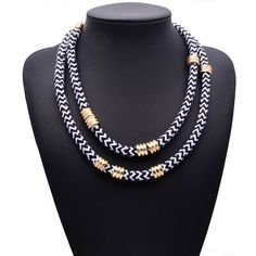6.28€ - Double layer Rope Cheap Hotsale Vintage Women Hotsale Collar Choker Jewelry set 9966 - Best Lady Jewelry Store