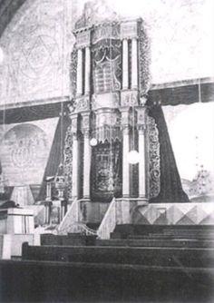 Aharon haKodesh Interior of the original Hurva Synagogue, Jerusalem.