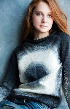 Кардиган из пряжи Gradient - 100% шерсть - Schoppel Wolle. Посмотреть все доступные цвета можно на нашем сайте www.mpyarn.ru