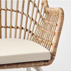 BOHO IKEA FINDS YOU WILL LOVE - House of Vedvik Rattan, Ikea Usa, Recycling Facility, Mousse Polyuréthane, Ikea Home, Ikea Chair, Polyurethane Foam, Chair Pads, Home Furnishings