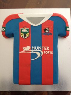 Newcastle knights cake