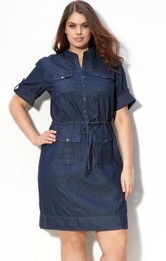 2b9a93858 Ropa Para Tallas Grandes  Lindos diseños de vestidos para mujeres gorditas  y jóvenes