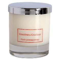 Fresh Pomegranate scented candle.