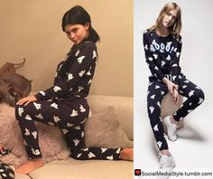 Buy Kylie Jenner's Ghost Print Sweatshirt and Sweatpants, here!