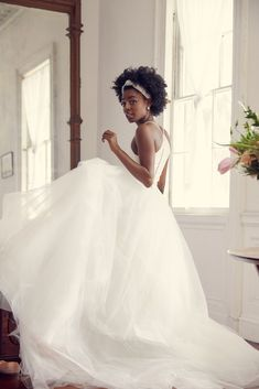 Wedding Dresses Mermaid Corset 18 Elopement and Intimate Wedding Dresses You Can Get Online Black Wedding Dresses, Wedding Gowns, Wedding Bells, Bridal Outfits, Bridal Dresses, Natural Wedding Hairstyles, African American Weddings, Maggie Sottero Wedding Dresses, Black Bride
