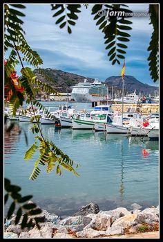 Vista *semioculta* del Puerto de Cartagena. Murcia. España Cartagena Spain, Costa, Viajes, Cities, Sweetie Belle, Fotografia