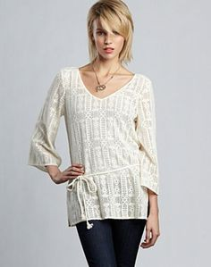 Marley Lace Top* - Lucky Brand Jeans