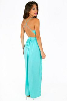 "Tobi ""X Back"" Maxi Dress 