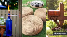 Love spending time outdoors? You will love being in the woods or even your backyard more when you have some of these awesome DIY ideas on hand. From cool candles and torches to portable seating and storage, you are sure to find some cool DIY outdoors projects to make with this list of 30 best tutori