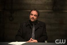 "Supernatural -- ""Heaven Can't Wait"" -- Image SN907b_0211 -- Pictured: Mark Sheppard as Crowley -- Credit: Diyah Pera/The CW --  © 2013 The CW Network, LLC. All Rights Reserved"