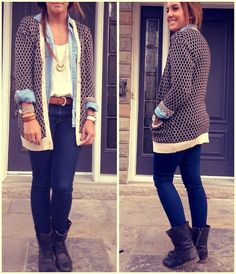outfits with combat boots for winter | ... great pair of Steve Madden Combat Boots to go with any winter outfit