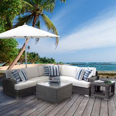 outdoor sectional <3