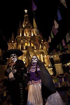 Day of the Dead in San Miguel