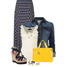 """Summer Maxi Style"" by kginger on Polyvore"