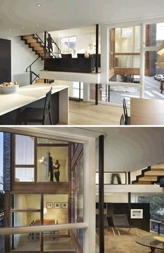 split level home, I have always wanted something like this !