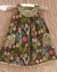 Pinafore Dress. They should make stuff this nice for adults! At reasonable prices