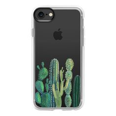 Festival cactus - iPhone 7 Case And Cover ($40) ❤ liked on Polyvore featuring accessories, tech accessories, phone cases, phones, iphone case, clear iphone case, iphone cover case, apple iphone case and iphone cases