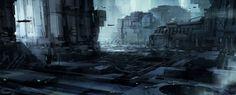 mirkokosmos:  Concept Art - Sci-Fi / Cyberpunk / Industrial
