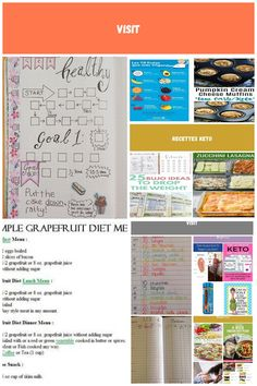 Bullet journal weight loss tracker. Layout ideas! See this Instagram photo by @s  Bullet Journal diet plan bullet journal