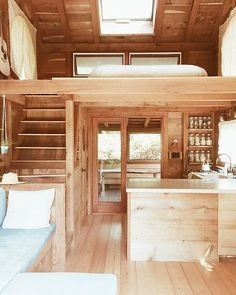 Somewhere, in a Faraway Life. - my scandinavian home: Somewhere, in a Faraway Life… The Effective Pictures We Offer You About hom - Tiny House Loft, Best Tiny House, Modern Tiny House, Tiny House Living, Small House Design, Small House Plans, Cabin With Loft, House Ideas, Shed Homes