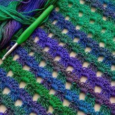Dew Drop Wrap - Free Crochet Pattern