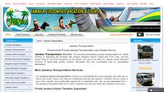 Great Jamaican transportation services for airport arrivals, hotel departures, the best transfer rates, large or small group transport, we service anywhere in Jamaica... http://www.jcvtt.com/jamaicatransportation-c-24.html