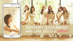 "[Exclusive] Download APINK's ""Pink LUV"" Mobile Theme   Win Autographed Album!"