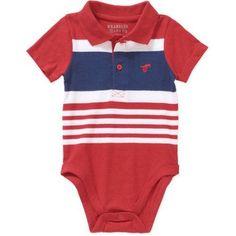 Wrangler Newborn Baby Boy Knit Bodysuit, Size: 0 - 3 Months, Red