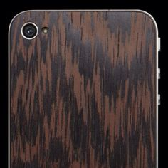 Wooden iPhone back