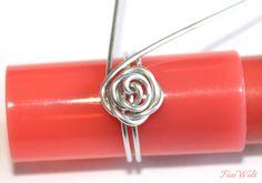 FiosWelt: [DIY] Rosenringe aus Draht                              …