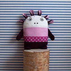 Růžovo-fialový pyžamožrout Bartex, 35x30cm