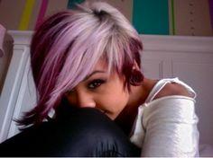 I really want my hair like this :b