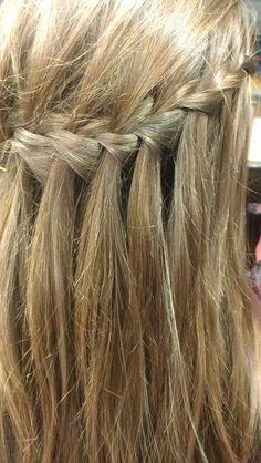 IDIDIT:) waterfall braid<3