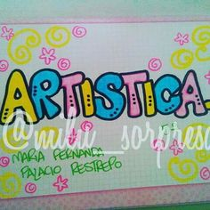 Para mas ideas w ow Comic Text, Letters And Numbers, Art Projects, Diy And Crafts, Doodles, Bullet Journal, Classroom, Lettering, School