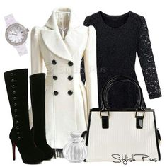 Love the boots & coat