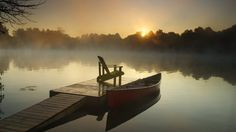 Muskoka at Sunrise, Ontario - Webshots