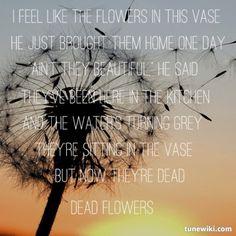Miranda Lambert ~ Dead Flowers