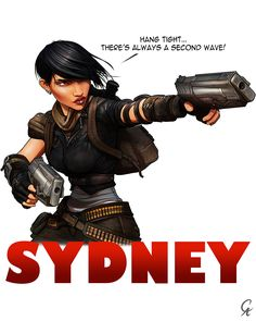 Sydney - Fallout 3 by CameronAugust