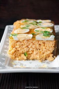 Pasztet rybny Polish Recipes, Halibut, Appetisers, Fried Rice, Paleo, Gluten Free, Favorite Recipes, Snacks, Cooking