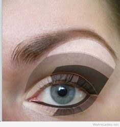 Makeup for Clients with Hooded Eyes #eyemakeup
