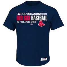 Boston Red Sox 2013 Authentic Collection Team Favorite Playoff T-Shirt - MLB.com Shop