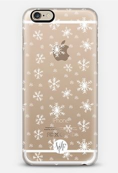 Snowflakes iPhone 6 Case | Get the most beautiful phone cases and let your phone shine!