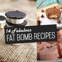 A great post dedicated to some yummy fat bomb recipes! From Dominic @ No Bun Please. Shared via https://facebook.com/lowcarbzen