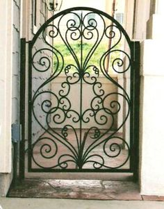 Ironwork gate by roslyn