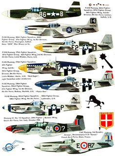North American P-51B & C Mustang - Profile