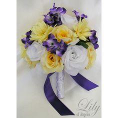 Yellow/Purple/White