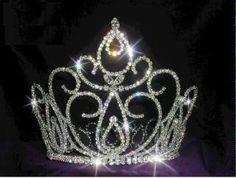 Estephany full rhinestone Crown – CrownDesigners
