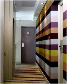 pasillos multicolor