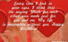 Happy Birthday Quotes And Sayings For Boyfriend
